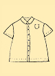 No.81 Blouse with Small Square Collar 四角い衿ブラウス型紙