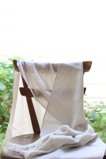 LINNET Linen Cashmere Gauze Photo