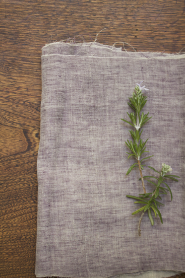 Photo LINNET Linen Double Gause WW rosemary