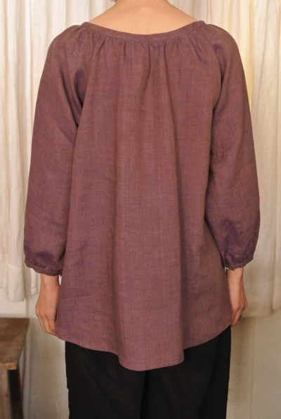 No.107 Raglan sleeves blouse photo back body