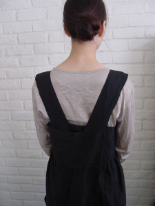 Pattern/           No.42 Crossed-back Apron